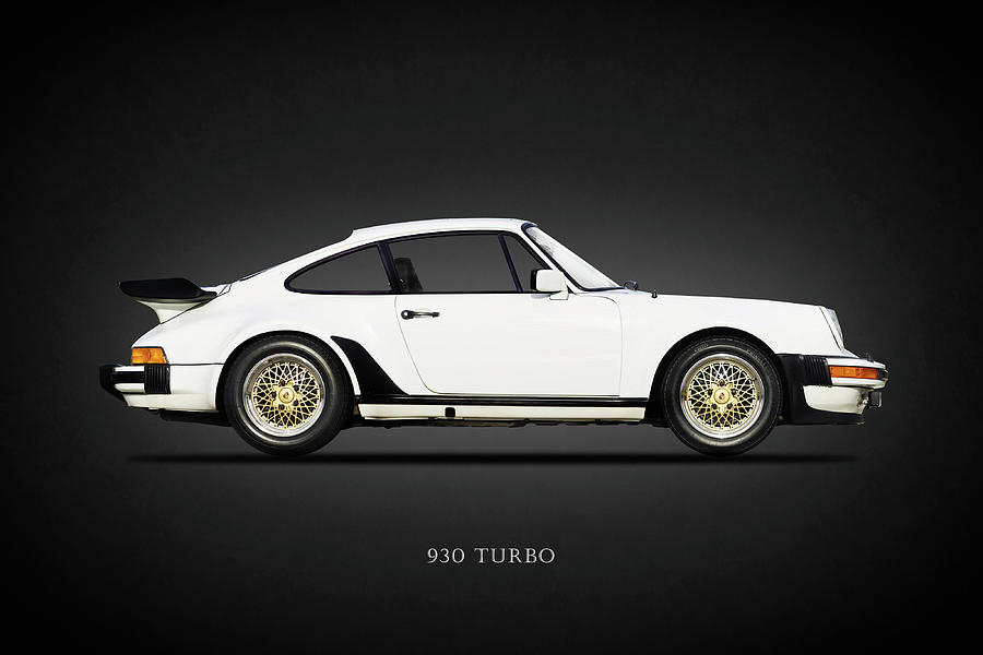 Porsche 930 Turbo Photograph - The 930 Turbo  by Mark Rogan