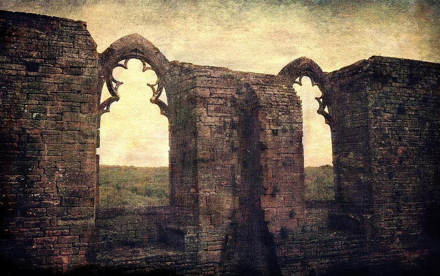 The Abbey ruins by Vittorio Chiampan