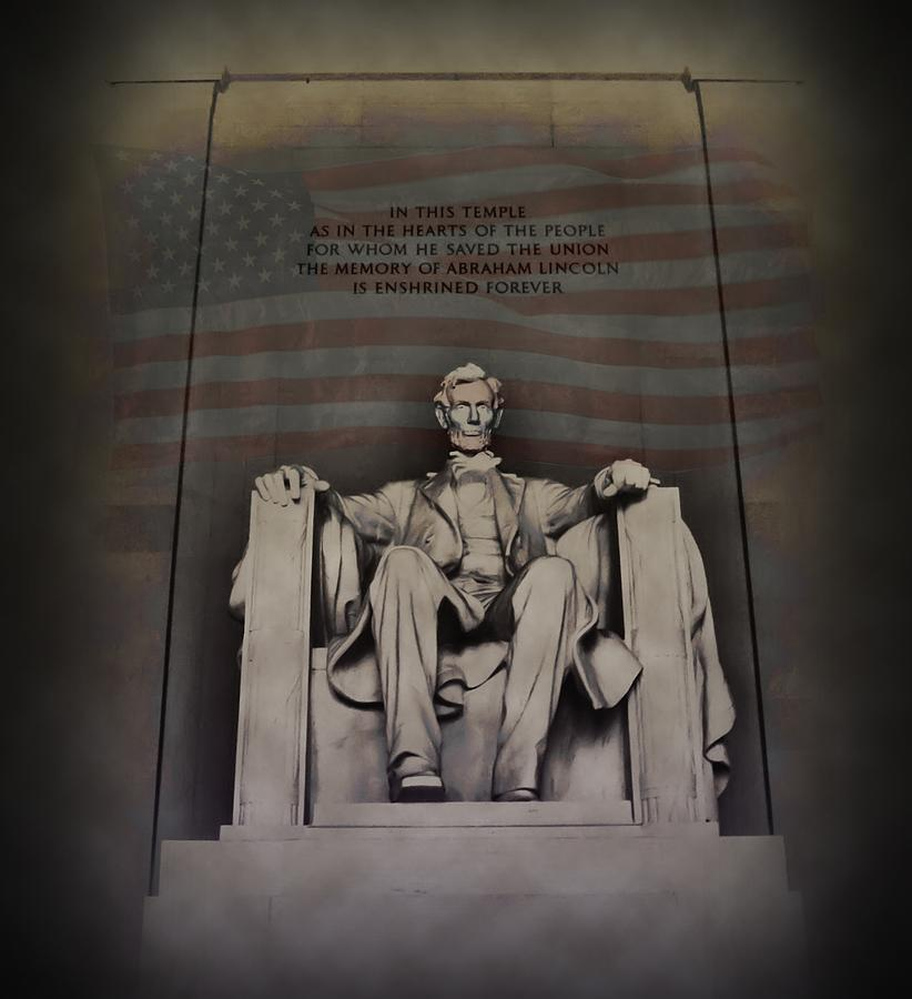Abraham Lincoln Photograph - The Abraham Lincoln Memorial by Bill Cannon