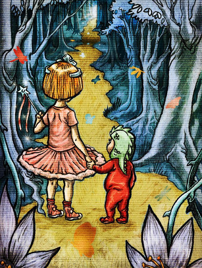 The Adventurers Digital Art by Baird Hoffmire