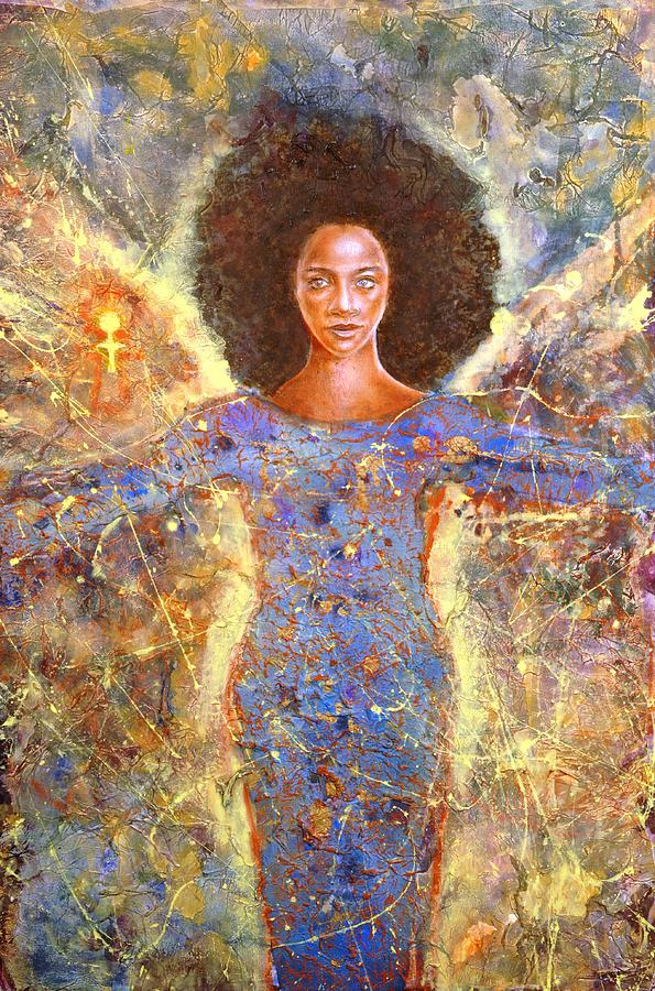 The African Symbol Of Life Painting By Raymond Walker