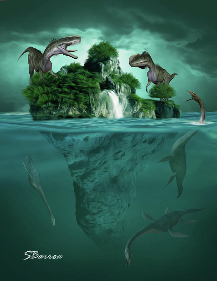 The Age Of Dinosaurs Painting