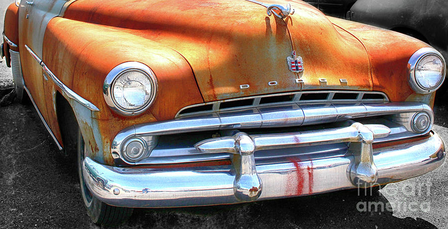 Cars Photograph - The Age Of Dodge  by Steven Digman