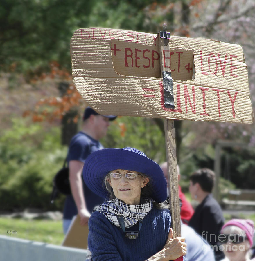 Protests Photograph - The Age Of Strength  by Steven Digman