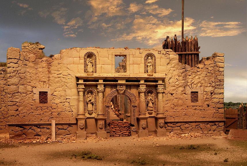 The Alamo Sculpture By Mark Lemon
