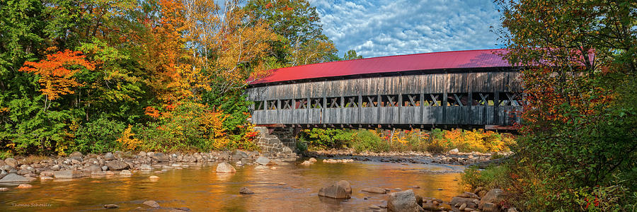 The Albany Bridge - Kancamagus Highway by Expressive Landscapes Nature Photography