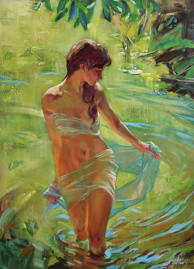Ignatenko Painting - The allegory of summer by Sergey Ignatenko