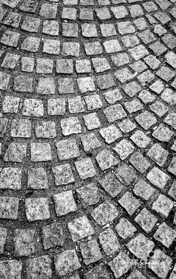 Schmidt Photograph - The Alley by E B Schmidt