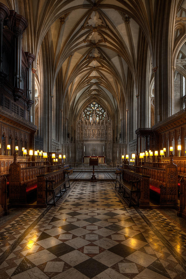 Architecture Photograph - The Altar by Adrian Evans