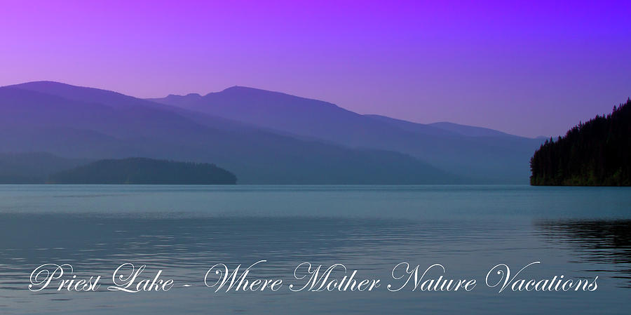 Landscapes Photograph - The Amazing Priest Lake by David Patterson