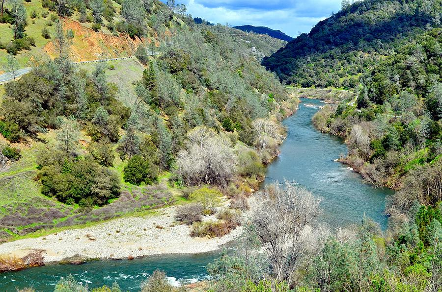 The American River Photograph by Sagittarius Viking