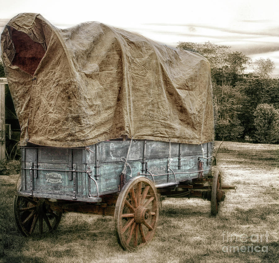 Wagon Photograph - The American Wagon  by Steven Digman