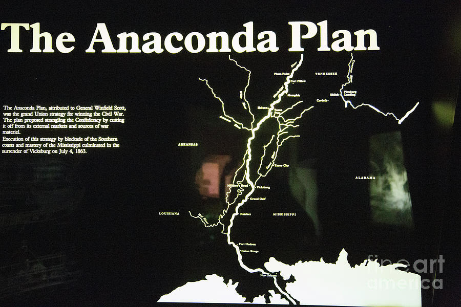 union anaconda plan