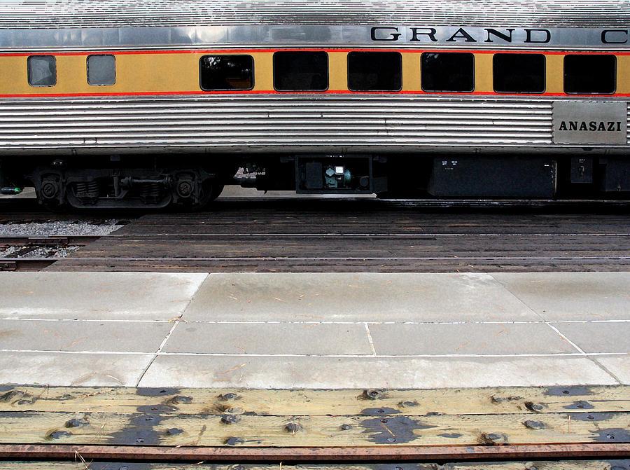 Rail Road Photograph - The Anasazi by Joe Kozlowski