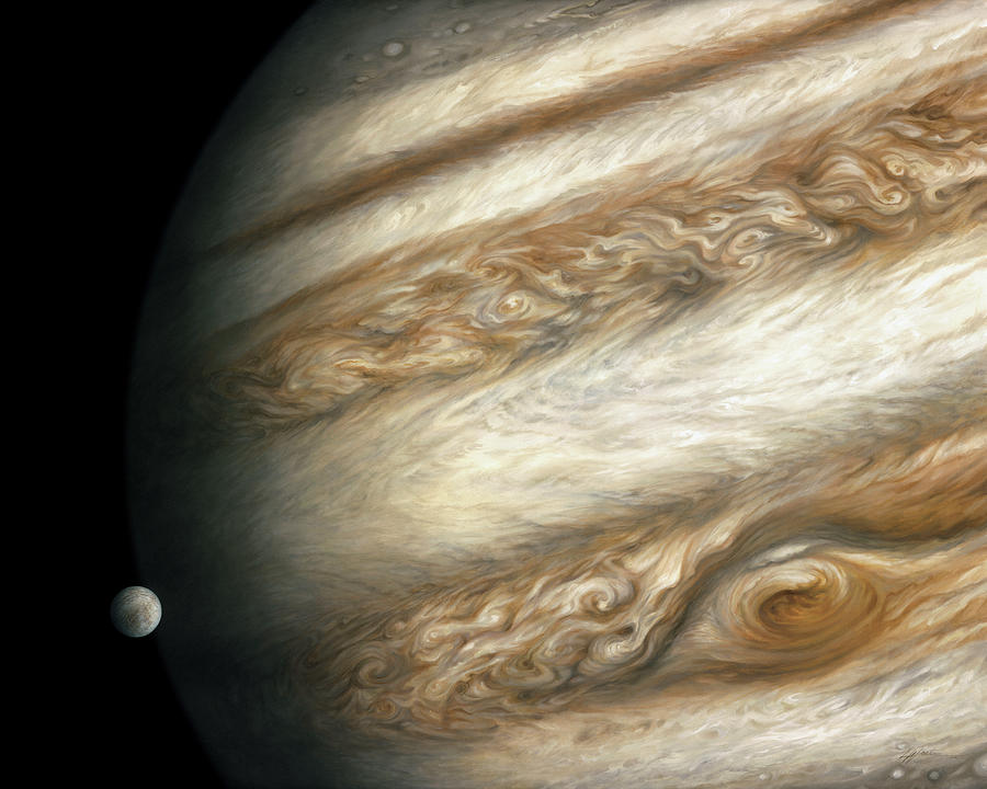 The Ancient Dance of Europa and Jupiter by Lucy West