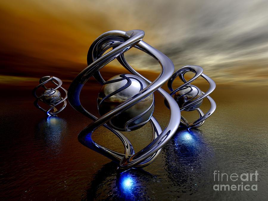 3d Digital Art - The Ancient Ones by Alexander Butler