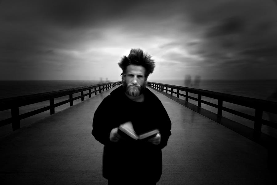 B&w Photograph - The Angel Gabriel by Cole Thompson