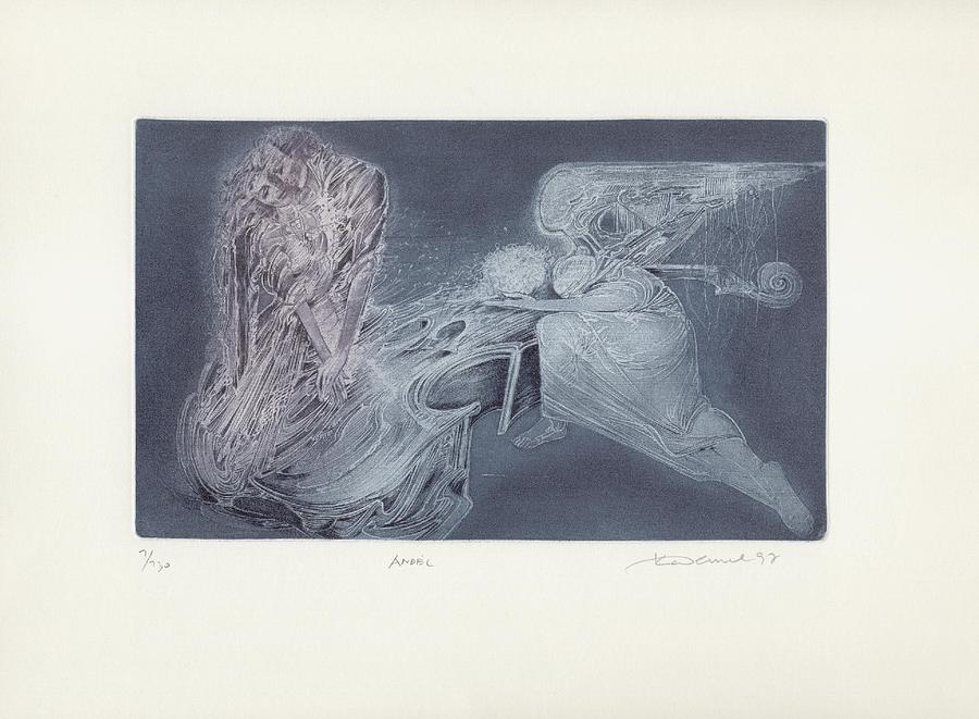 Limited Edition Print - The Angel by Karel DEMEL