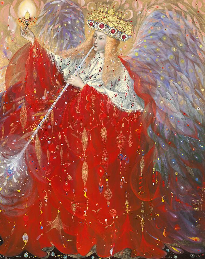 Angel Painting - The Angel Of Life by Annael Anelia Pavlova
