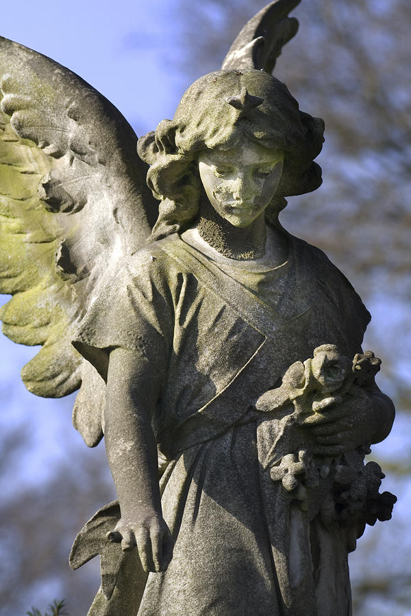 Angel Photograph - The Angels Blessing by Marc Huebner