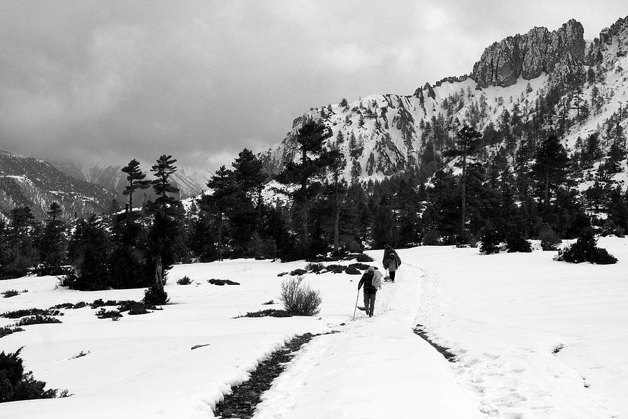 Nepal Photograph - The Annapurna Mountain Range by Aidan Moran