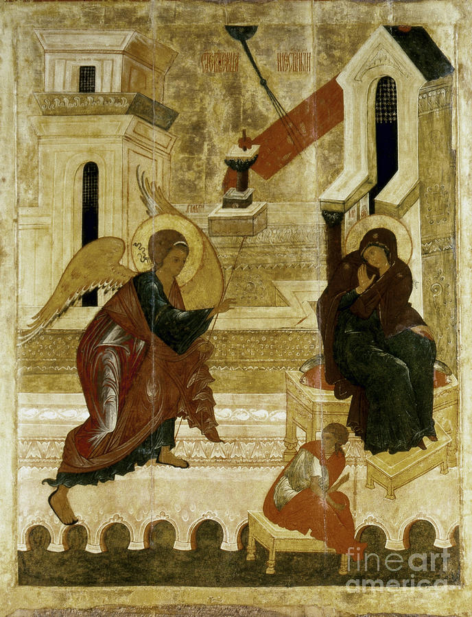 16th Century Photograph - The Annunciation by Granger