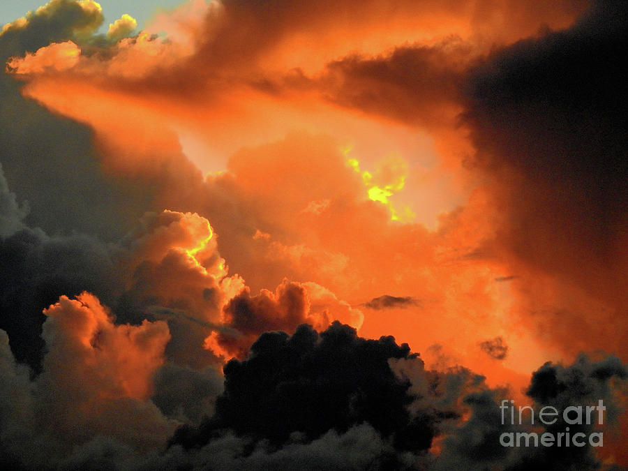 Sky Color Photograph - The Answer Is Out There by Scott Cameron