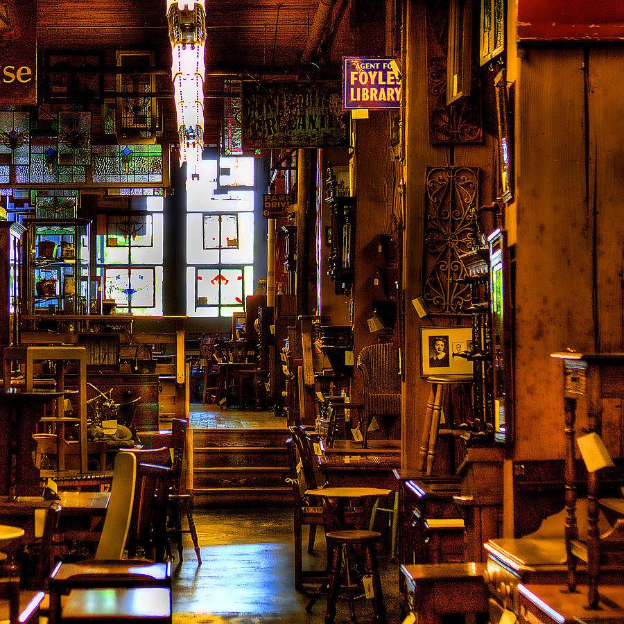 Antiques Photograph - The Antique Store by David Patterson