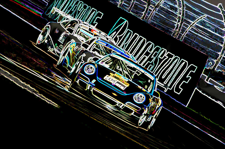 Porsche Digital Art - The Apex by Sebastian Musial