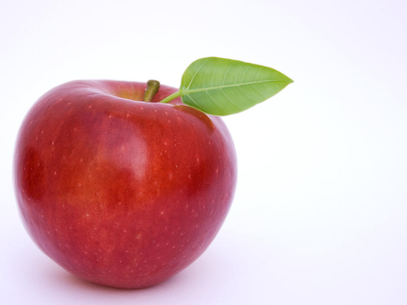 Apple Photograph - The Apple by Jon Guzman