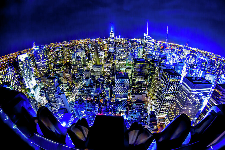 Nyc Photograph - The Apple That Never Sleeps by Kyle Field