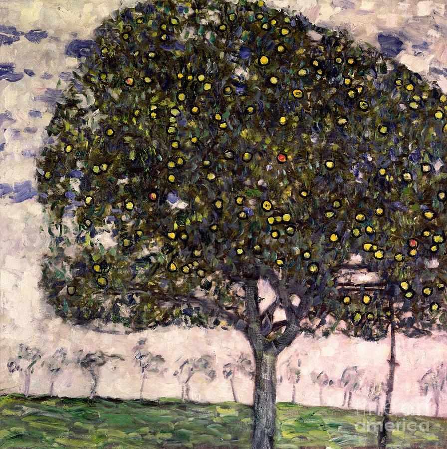 The Apple Tree Ii Painting By Gustav Klimt