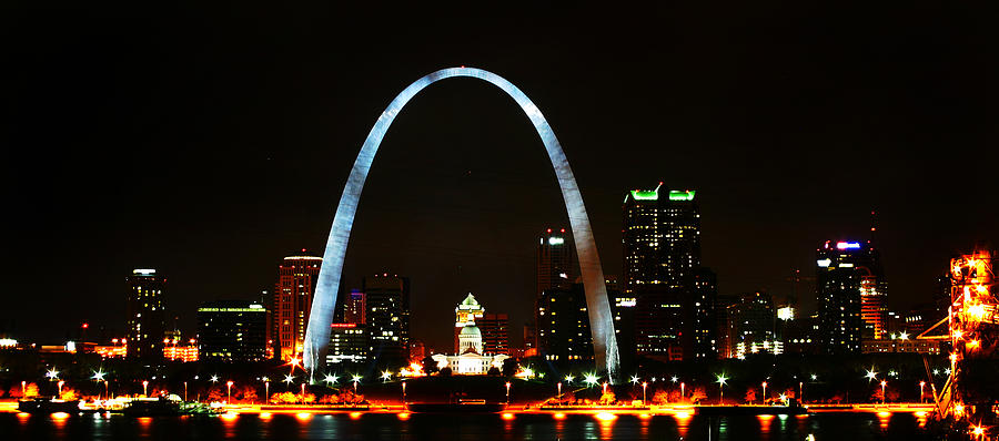 St Louis Photograph - The Arch by Anthony Jones