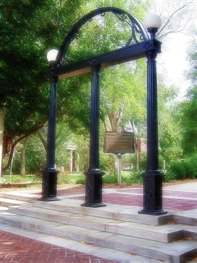 Uga Photograph - The Arch At Uga by Doc Braham