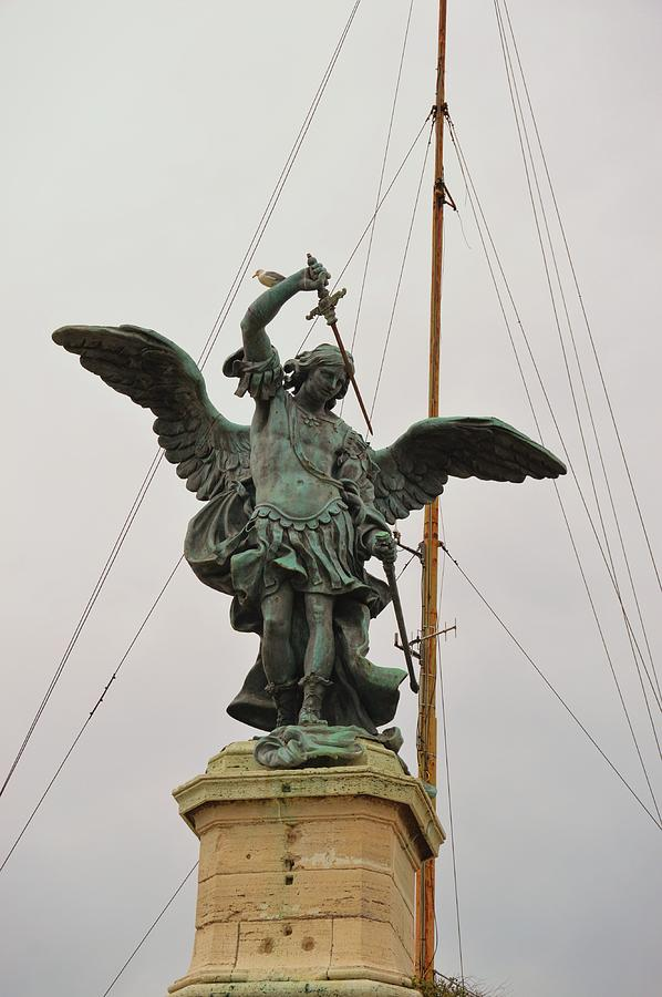 Italy Photograph - The Archangel Michael by JAMART Photography
