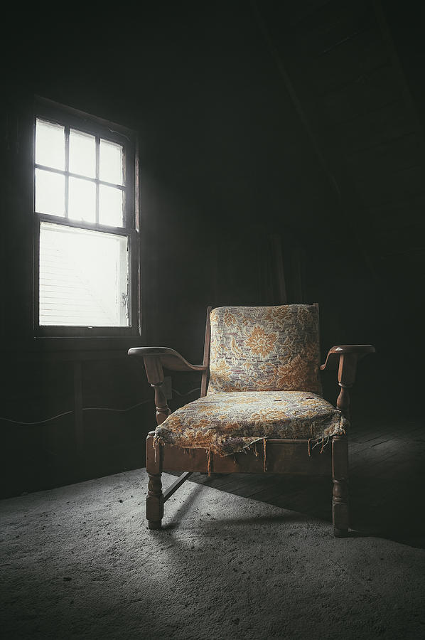 The Armchair In The Attic Photograph