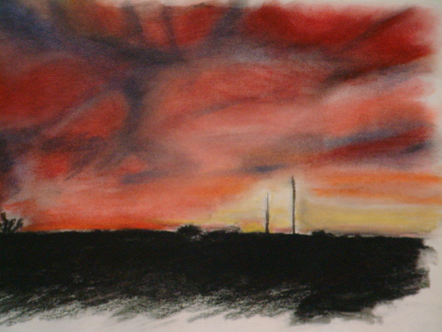 Pastels Pastel - The Arrival by Andrew Davies