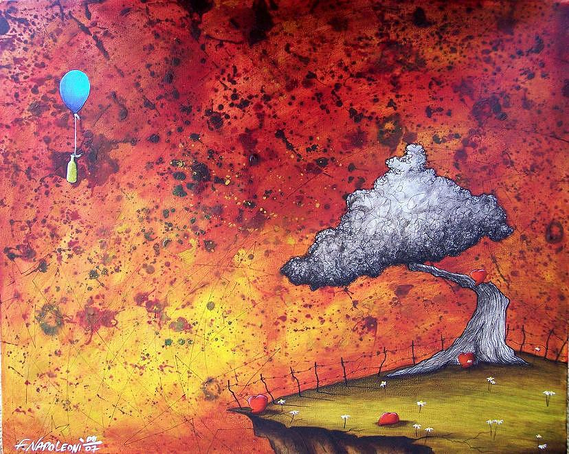 The Arrival Of Good News Painting by Fabio Napoleoni
