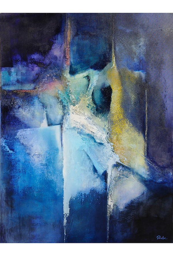 Abstract Painting - The Arrival Of Spring by Jozsef Sinka