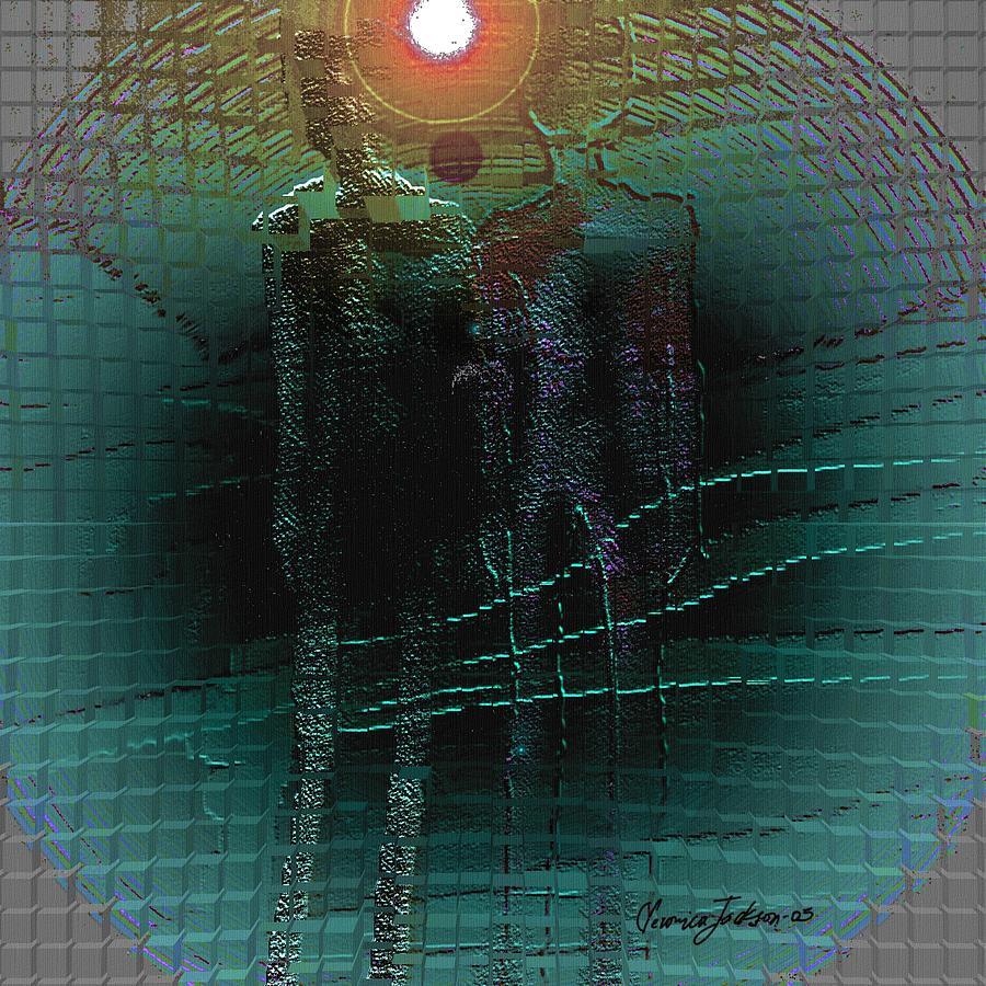 The Arrival Digital Art by Veronica Jackson
