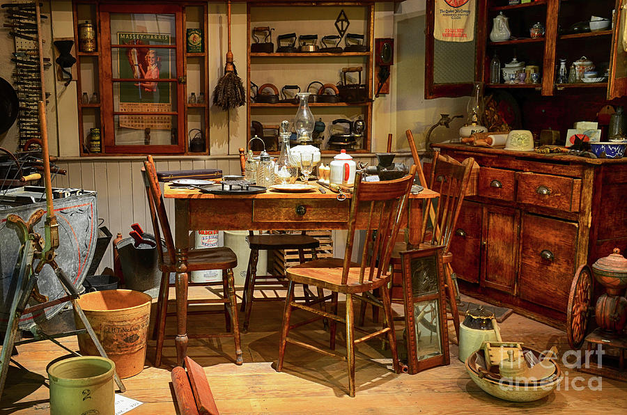 Kitchen Photograph - The Art Of Aging 11 by Bob Christopher