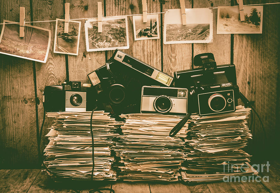 Vintage Photograph - The Art Of Film Photography by Jorgo Photography - Wall Art Gallery