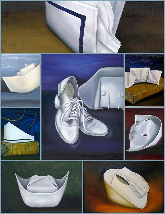 Nurse Painting - The Art Of Nursing by Marlyn Boyd