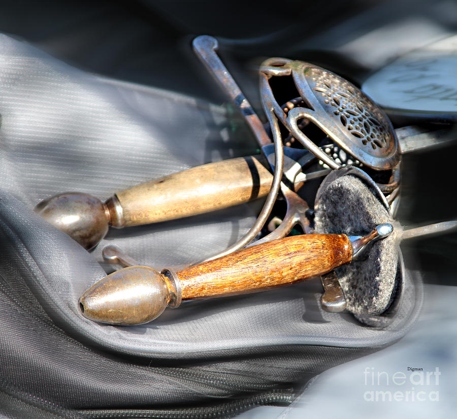 Fencing Photograph - The Art Of Weapons  by Steven Digman