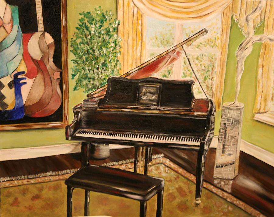 Music Painting - The Art Room by Dyanne Parker