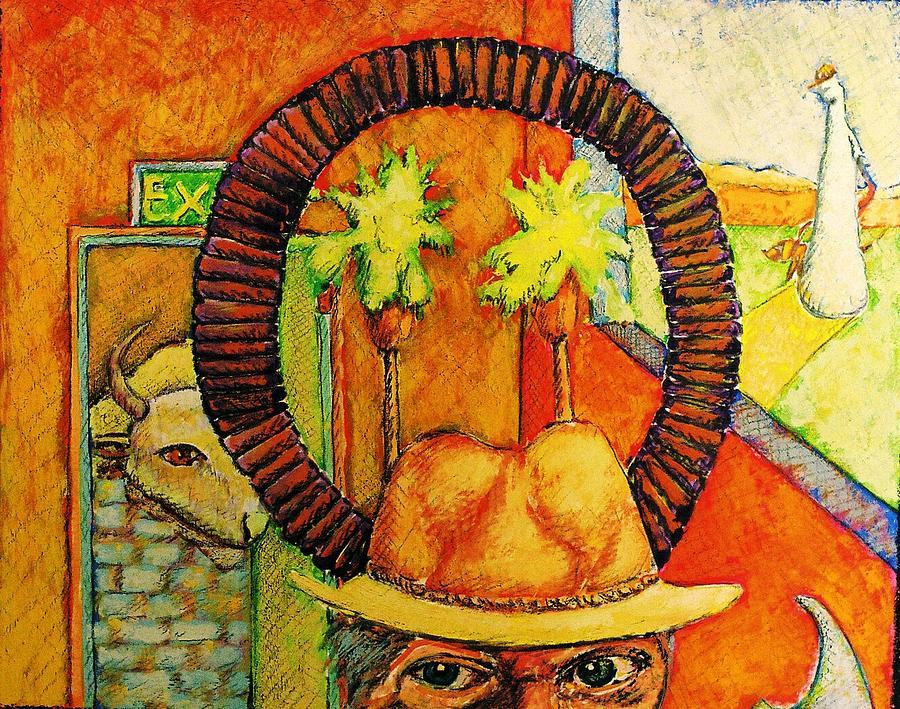 Artist Painting - The Artist   Gerd Koch by Ronald Walker