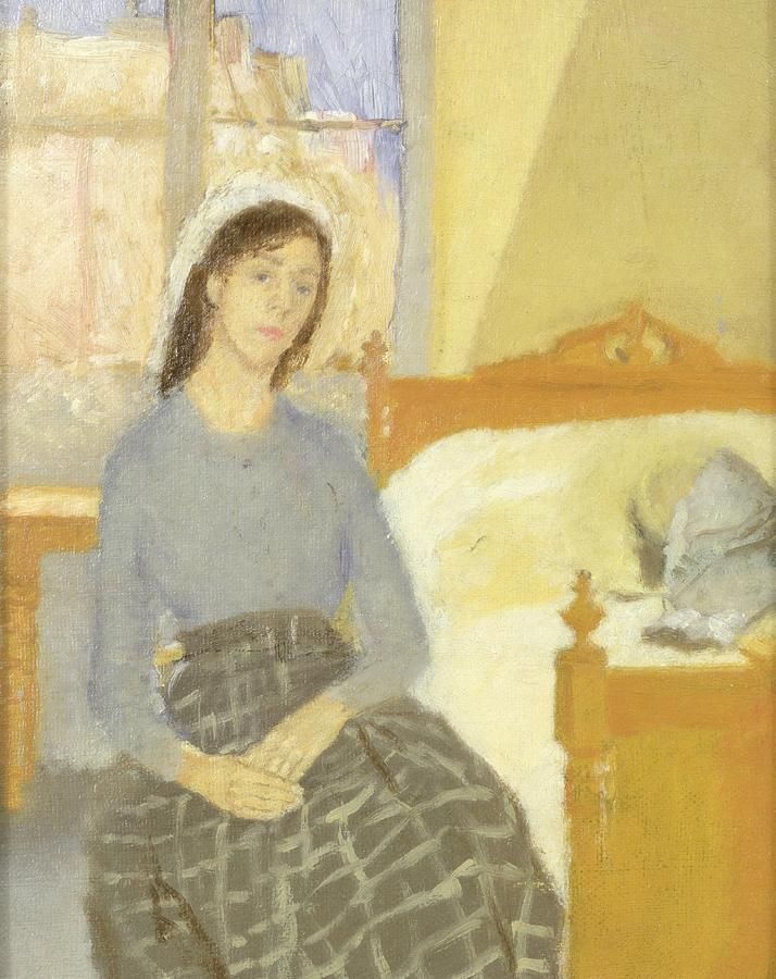 The Painting - The Artist In Her Room In Paris by Gwen John