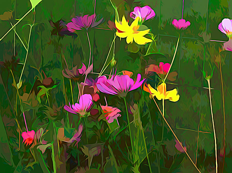 Flowers Mixed Media - The Artistic Side Of Nature by Debra Lynch