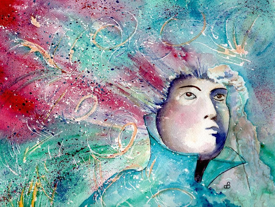 Watercolor Painting - The Artists Mind  by Brenda Owen