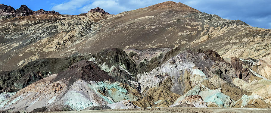 The Artists Palette Death Valley National Park by Michael Rogers